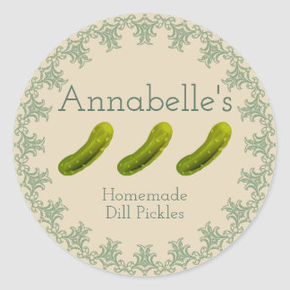 Dill Pickles Label