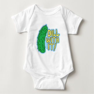 Dill With It Baby Bodysuit