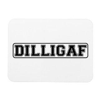 "DILLIGAF – Funny rude ""Do I look like I Give A"" Rectangular Photo Magnet"