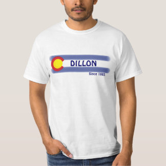 Dillon Colorado local flag value tee