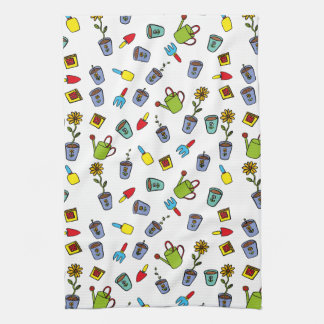 Dillon's Garden Tea Towel