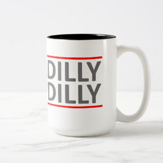 Dilly Dilly A True friend of the crown Two-Tone Coffee Mug