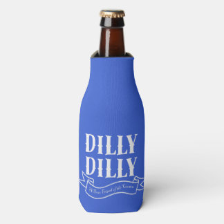 Dilly Dilly Blue Bottle Cooler (White)