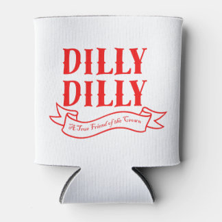 Dilly Dilly Can Cooler (Red)