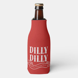 Dilly Dilly Red Bottle Cooler (White)