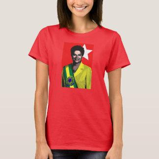 Dilma Presidente 2014 Brasil Eleções T-Shirt