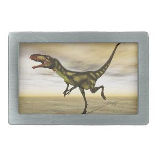 Dilong dinosaur - 3D render Belt Buckle