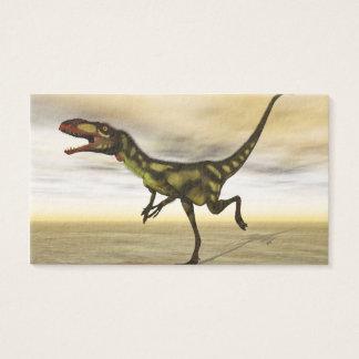 Dilong dinosaur - 3D render Business Card