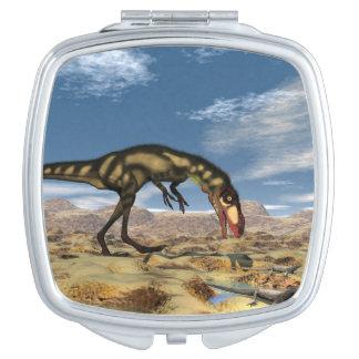Dilong dinosaur - 3D render Mirror For Makeup