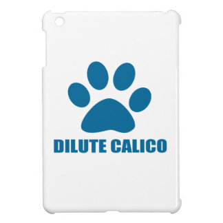 DILUTE CALICO CAT DESIGNS iPad MINI CASE