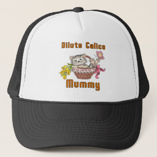 Dilute Calico Cat Mom Trucker Hat