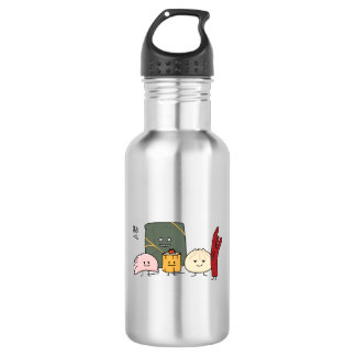 Dim Sum Pork Bao Shaomai Chinese dumpling Buns Bun 532 Ml Water Bottle