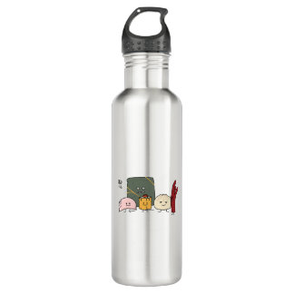 Dim Sum Pork Bao Shaomai Chinese dumpling Buns Bun 710 Ml Water Bottle