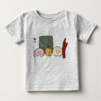 Dim Sum Pork Bao Shaomai Chinese dumpling Buns Bun Baby T-Shirt