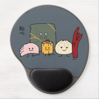 Dim Sum Pork Bao Shaomai Chinese dumpling Buns Bun Gel Mouse Pad