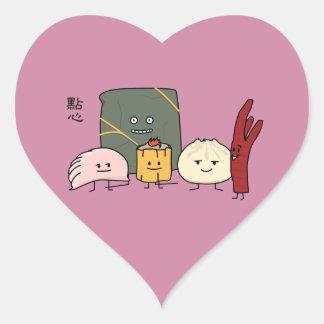 Dim Sum Pork Bao Shaomai Chinese dumpling Buns Bun Heart Sticker