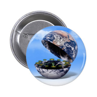 Dim The Lights For Earth Hour Earth Open Pinback Buttons