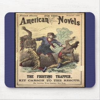 Dime Novel Kit Carson Mouse Pads
