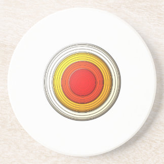 Dimension circle drink coaster