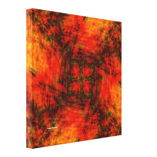 Dimension to Hell Stretched Canvas Print