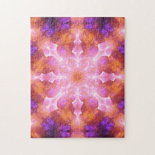 Dimensional Awareness Mandala Jigsaw Puzzle