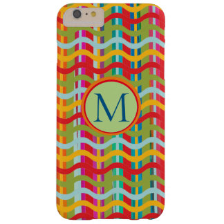 Dimensional Smiles (Brand Options) MONOGRAM - Barely There iPhone 6 Plus Case