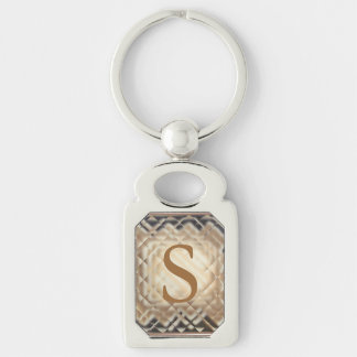 Dimensional Square-S Key Chains