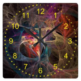 Dimensions Square Wall Clock