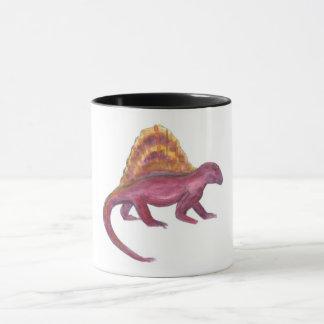 Dimetrodon dinosaur mug