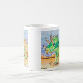 Dina Art Triceratops Jumbo Mug