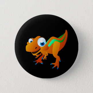 Dina The Dinosaur 6 Cm Round Badge