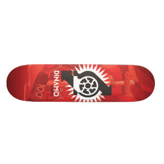 Dinamo Futurista Board 18.1 Cm Old School Skateboard Deck