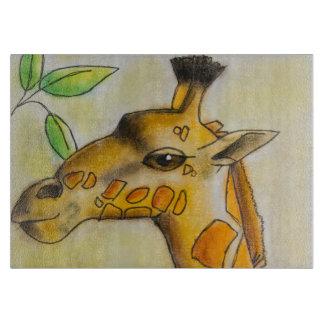 Dina's Giraffe Cutting Board