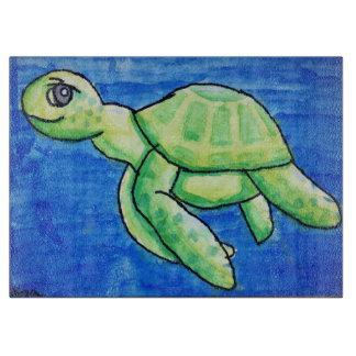 Dina's Sea Turtle Cutting Board