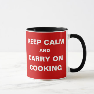 Diners Are Hungry Keep Calm Carry On Cooking Mug