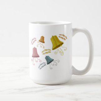 Ding a Ling cups Classic White Coffee Mug