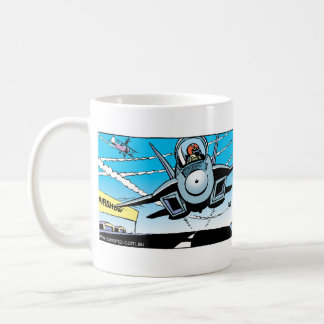 Ding Duck at the Air Show Mug