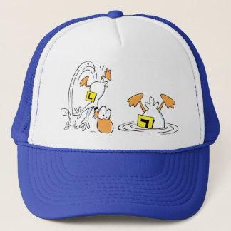 Ding Duck Crashed Cap