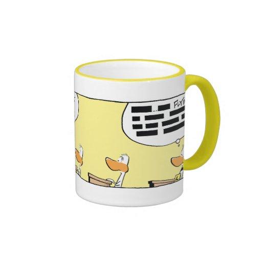 Ding Duck Flight Theory Class Mug