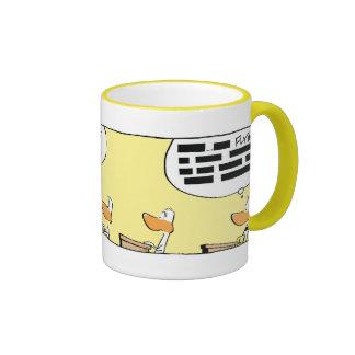 Ding Duck Flight Theory Class Ringer Mug