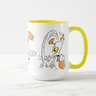 Ding Duck Flying Coffee Mug