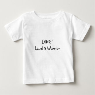 Ding! Level 3 Warrior Shirt