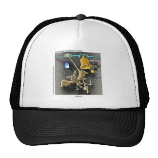Dingbat Funny Cartoon Gifts Tees & Collectibles Trucker Hat