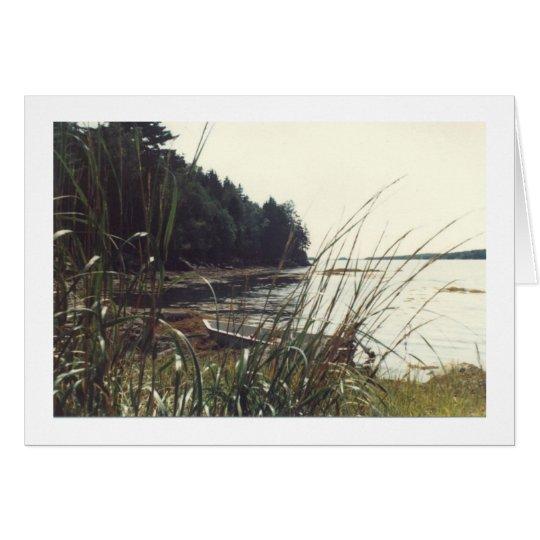 Dinghy, Casco Bay Card