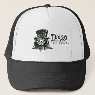 Dingo Dizmal portrait done by Kevin Reynolds. Trucker Hat