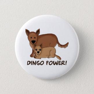 Dingo Power 6 Cm Round Badge