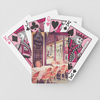 Dining In Paris Al Fresco Bicycle Playing Cards