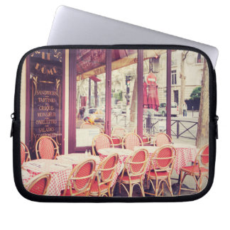 Dining In Paris Al Fresco Laptop Sleeve