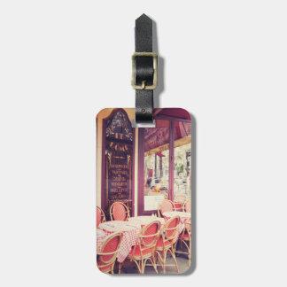 Dining In Paris Al Fresco Luggage Tag