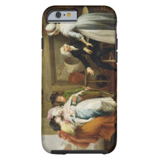 'Dining in the Hayfields' (surprised by Mr Thornhi Tough iPhone 6 Case